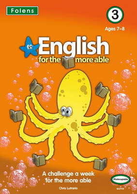 English for the More Able: Bk. 3 by Chris Lutrario image