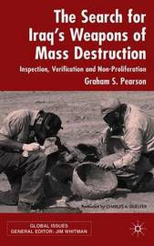 The Search For Iraq's Weapons of Mass Destruction by Graham S. Pearson image