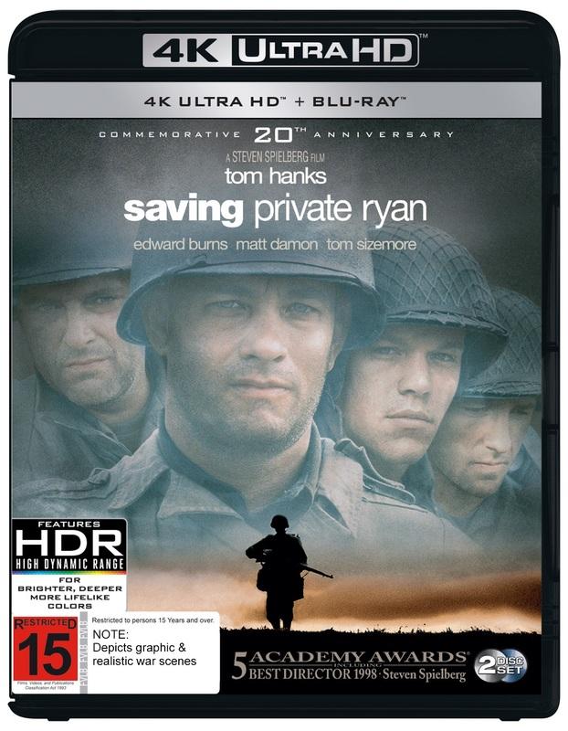 Saving Private Ryan on UHD Blu-ray