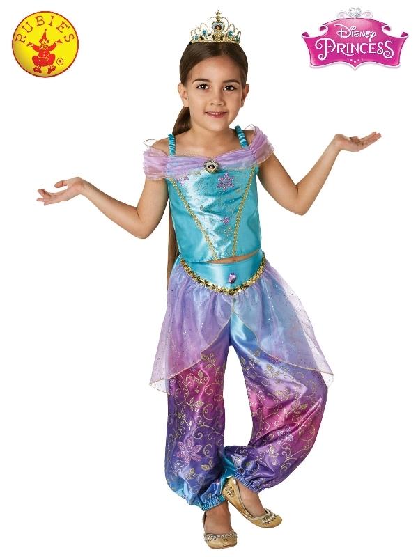 Jasmine Rainbow Deluxe Costume - Size 3-5