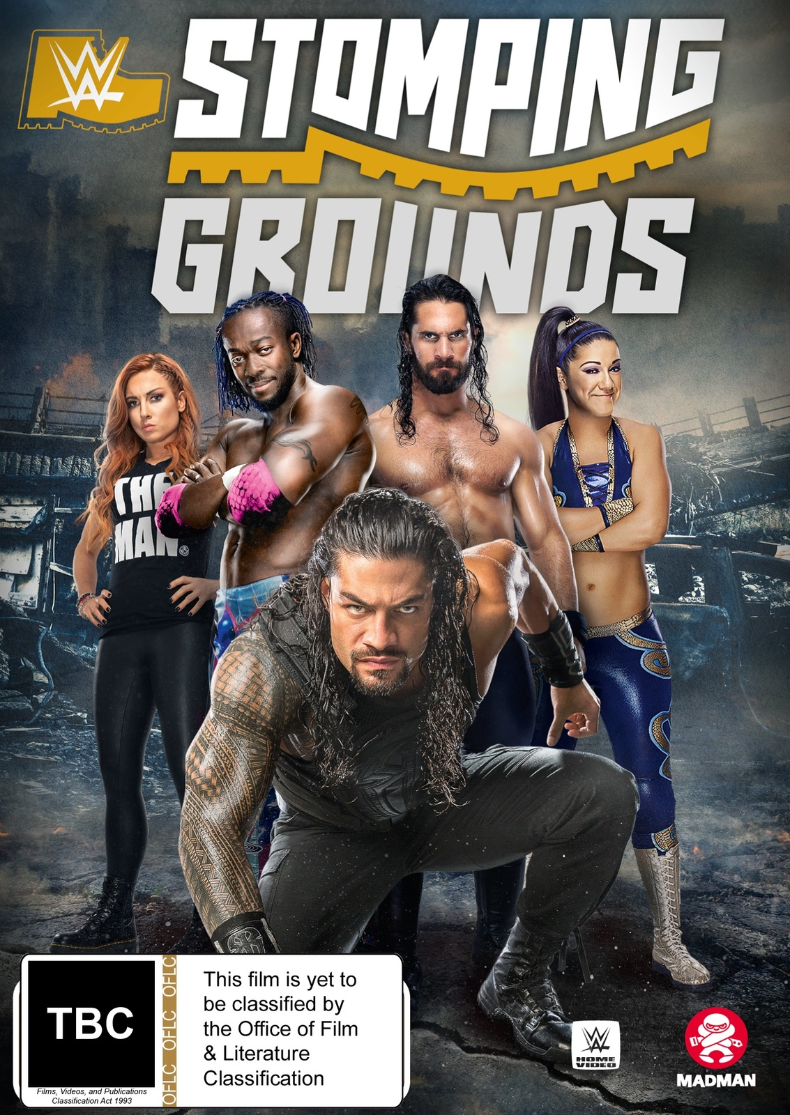 WWE: Stomping Grounds 2019 on DVD image