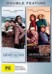 Grumpy Old Men / Grumpier Old Men - Double Feature (2 Disc Set) on DVD