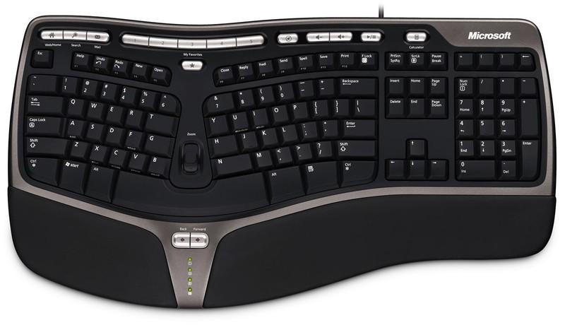 Microsoft Natural Ergonomic Keyboard 4000 image