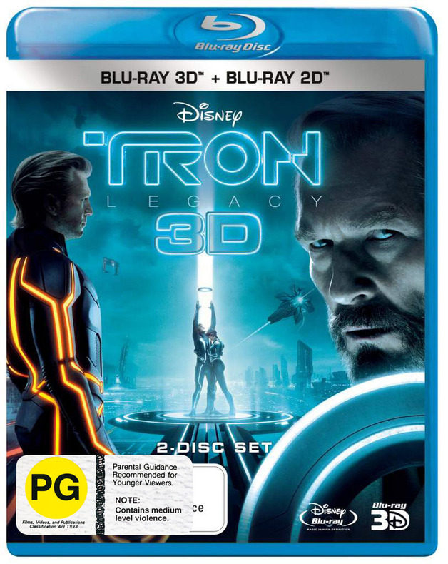 Tron Legacy - 3D on Blu-ray