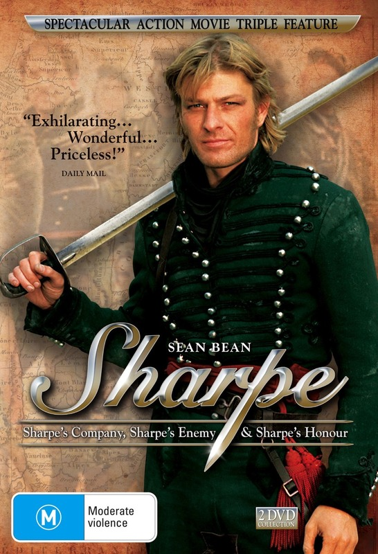Sharpe - Sharpe's Company / Enemy / Honour (2 Disc Set) on DVD