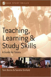 Teaching, Learning and Study Skills by Tom Burns image