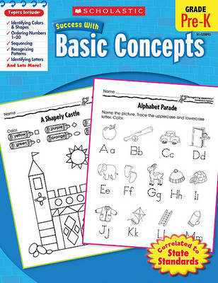 Scholastic Success with Basic Concepts, Pre-K by Danette Randolph image