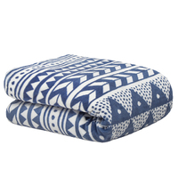 Bambury Nolita Ultraplush Throw Rug (Denim) image