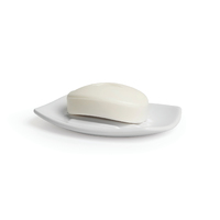 Corsa Bath Soap Dish - White