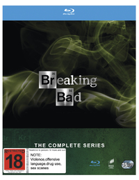 Breaking Bad The Complete Series on Blu-ray