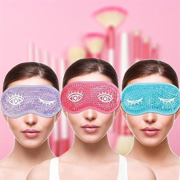 Buy Bliss Gel Bead Re Useable Cold Compress Eye Mask At Mighty Ape Nz