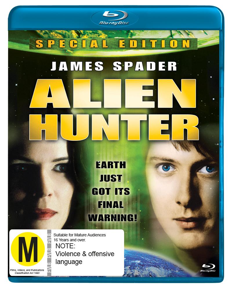 Alien Hunter on Blu-ray image