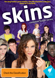 Skins - Complete 4th Series (3 Disc Set) on DVD image