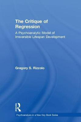 The Critique of Regression by Gregory S. Rizzolo image