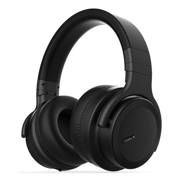 Cowin: E7 ACE Active Noise Cancelling - Wireless Bluetooth Headphones (Matte Black)