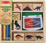 Melissa & Doug: Dinosaur Stamp Set