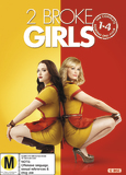 2 Broke Girls - Season 1-4 on DVD