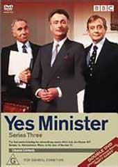 Yes Minister - Series 3 on DVD