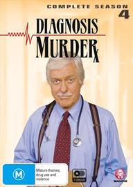 Diagnosis Murder - The Complete Season 4 on DVD