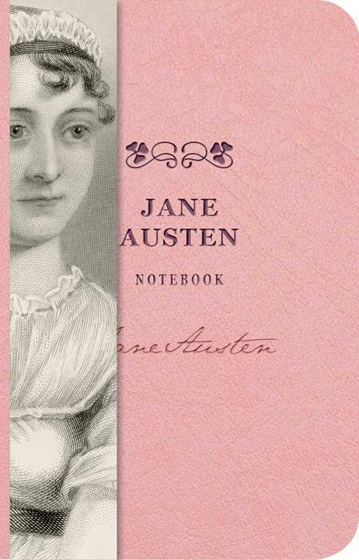 Jane Austen Notebook A6 Embossed by Cider Mill Press