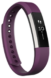 Fitbit Alta Fitness Tracker Wristband - Plum (Large)
