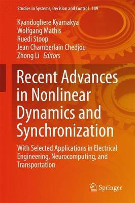 Recent Advances in Nonlinear Dynamics and Synchronization image