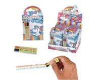 Rainbow Crayon - Multi-Coloured Crayon (Single)