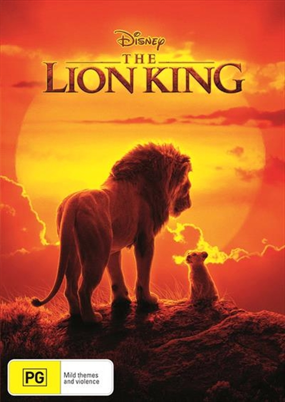 The Lion King (2019) on DVD