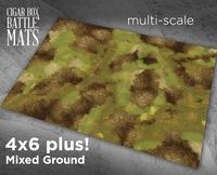 Cigar Box Mat: Mixed Ground (6x4 Plus)