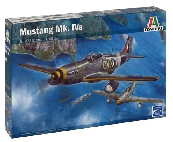 Italeri: 1:48 Mustang Mk. IVa - Model Kit