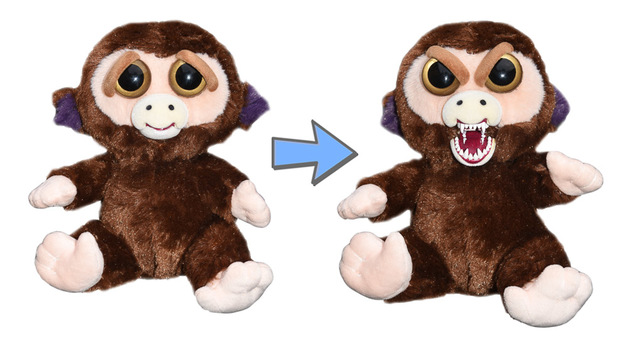 Feisty Pets: Grand Master Funk - Transforming Monkey Plush