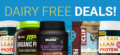 Dairy Free Supplement Deals!