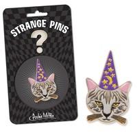 Meowlin Enamel Strange Pin