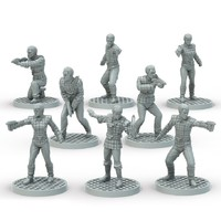 Star Trek Adventures Miniatures: Romulan Set