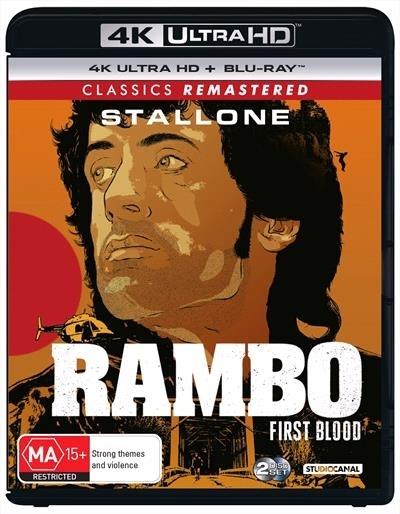 Rambo: First Blood on UHD Blu-ray