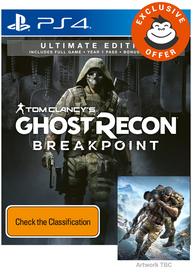 Tom Clancy's Ghost Recon Breakpoint Ultimate Edition for PS4