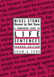 Companion Guide to Life Sentences by Nigel Stone image
