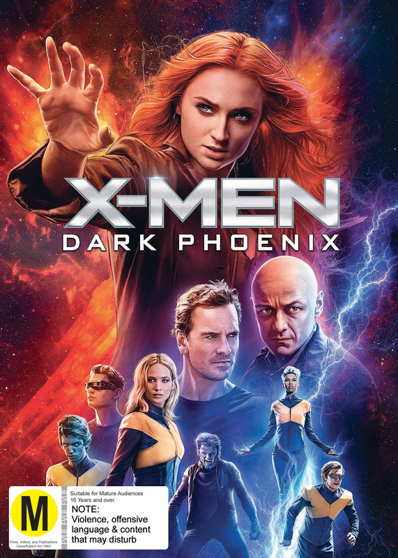 X-Men: Dark Phoenix on DVD