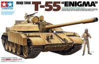 """Tamiya 1:35 Iraqi Tank T-55 """"Enigma"""" Model Kit"""