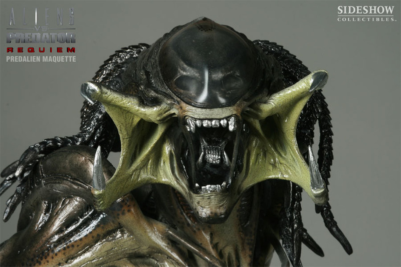 alien vs predator requiem predalien 1 4 scale maquette limited ed