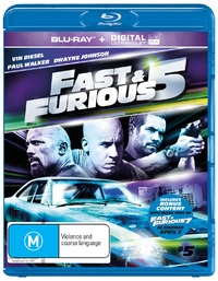Fast And Furious 5 UV on Blu-ray