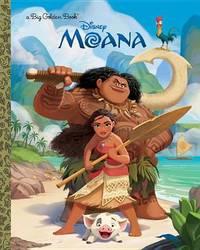 Moana Big Golden Book by Random House Disney