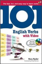 101 English Verbs by Rory Ryder image