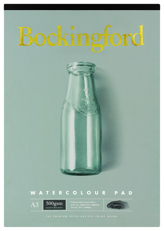 Bockingford A3 10lf 300gsm Watercolour Sketch Pad