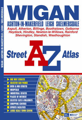 A-Z Wigan Street Atlas by Geographers A-Z Map Company