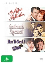 Affair To Remember, An / Gentleman's Agreement / How To Steal A Million (3 Disc Set) on DVD
