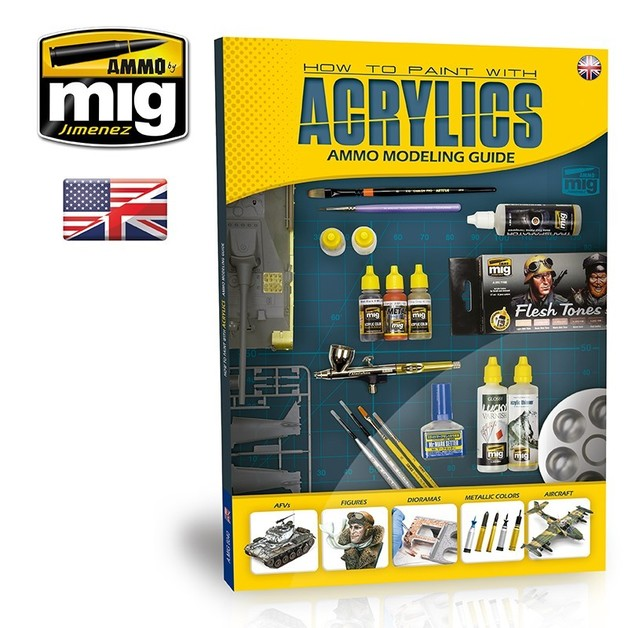 Modelling Guide: How to Paint with Acrylics