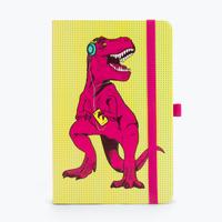 Mustard: T-Rex A5 Notebook - Magenta