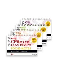 Wiley CPAexcel Exam Review 2019 Focus Notes by Wiley