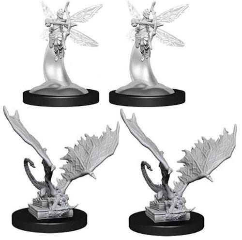 D&D Nolzur's Marvelous: Unpainted Miniatures - Sprite & Pseudodragon